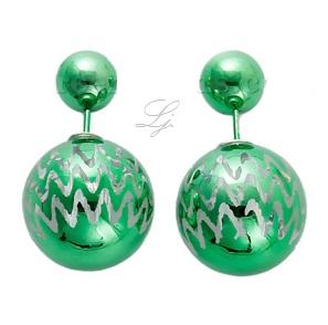 Pearls - Green/metallic