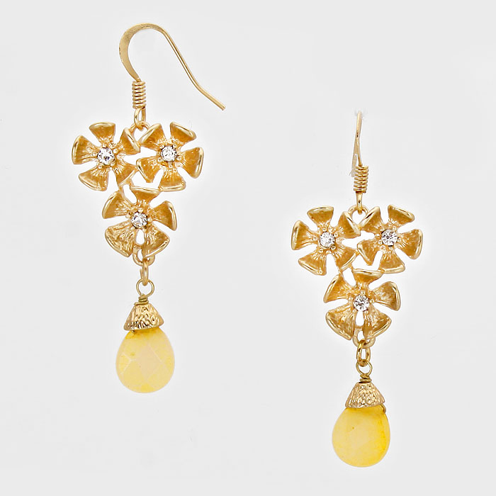 Heavy Metal - Gold/Yellow - Natural Stone