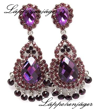 Big Drops - Purple Chandelier