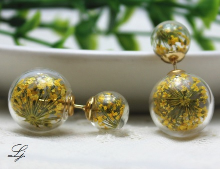 Pearls - Flowers Yellow