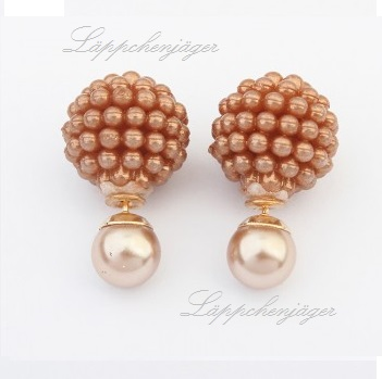 Pearls - Brown/Gold 4