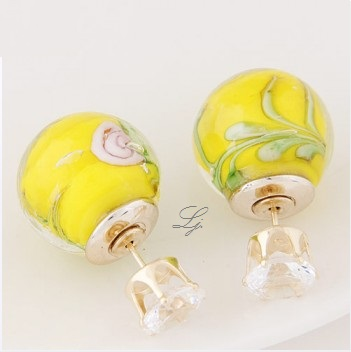 Pearls - Yellow Rose