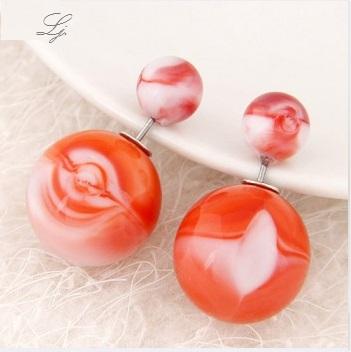 Pearls - Weiß/Rot