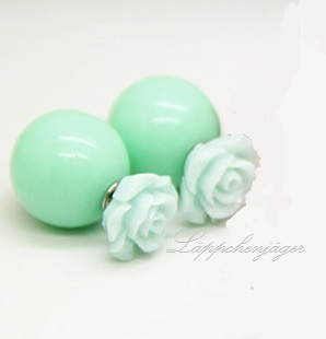 Pearls - Mint Roses