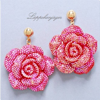 Flower Power - Pink/Red Rose