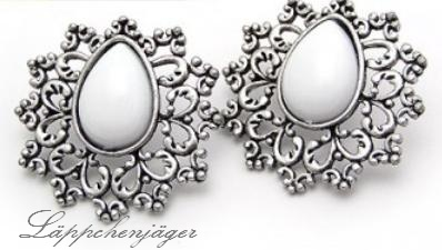 Little Hotspot - White/Silver Drops