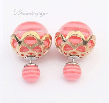 Pearls - Pink/Nude/Gold