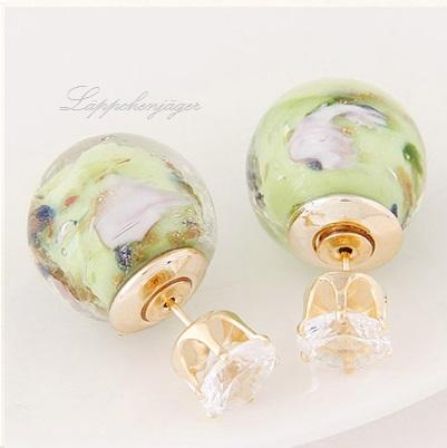 Pearls - Green Rose