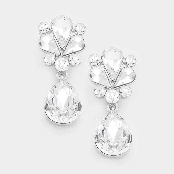 Little Drops - Clear/Silver 08