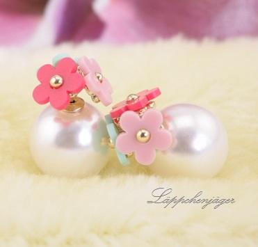 Pearls - Multi Flowers / White