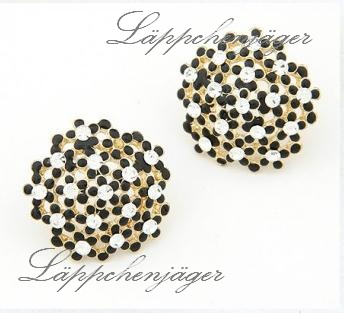 Little Hotspot - Black/Gold Flowers 2