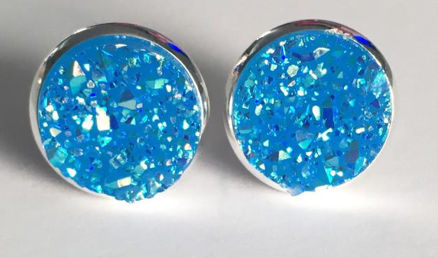 Druzy - Blau/N/Silber S