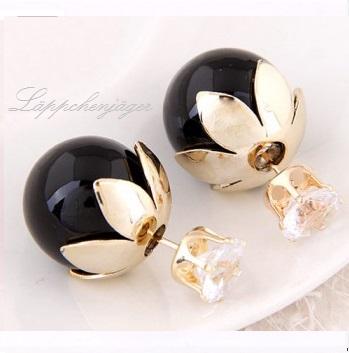 Pearls - Black/Gold/F