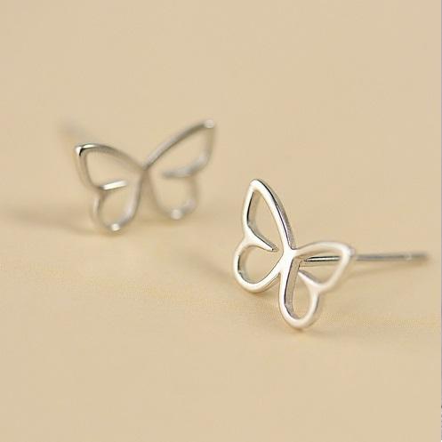 Little Hotspot - Butterfly - silber