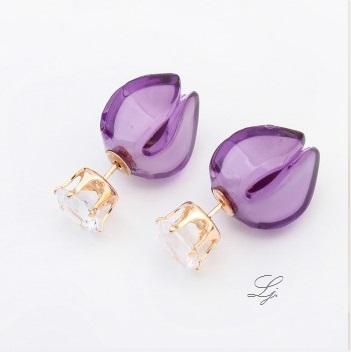 Pearls - Purple T