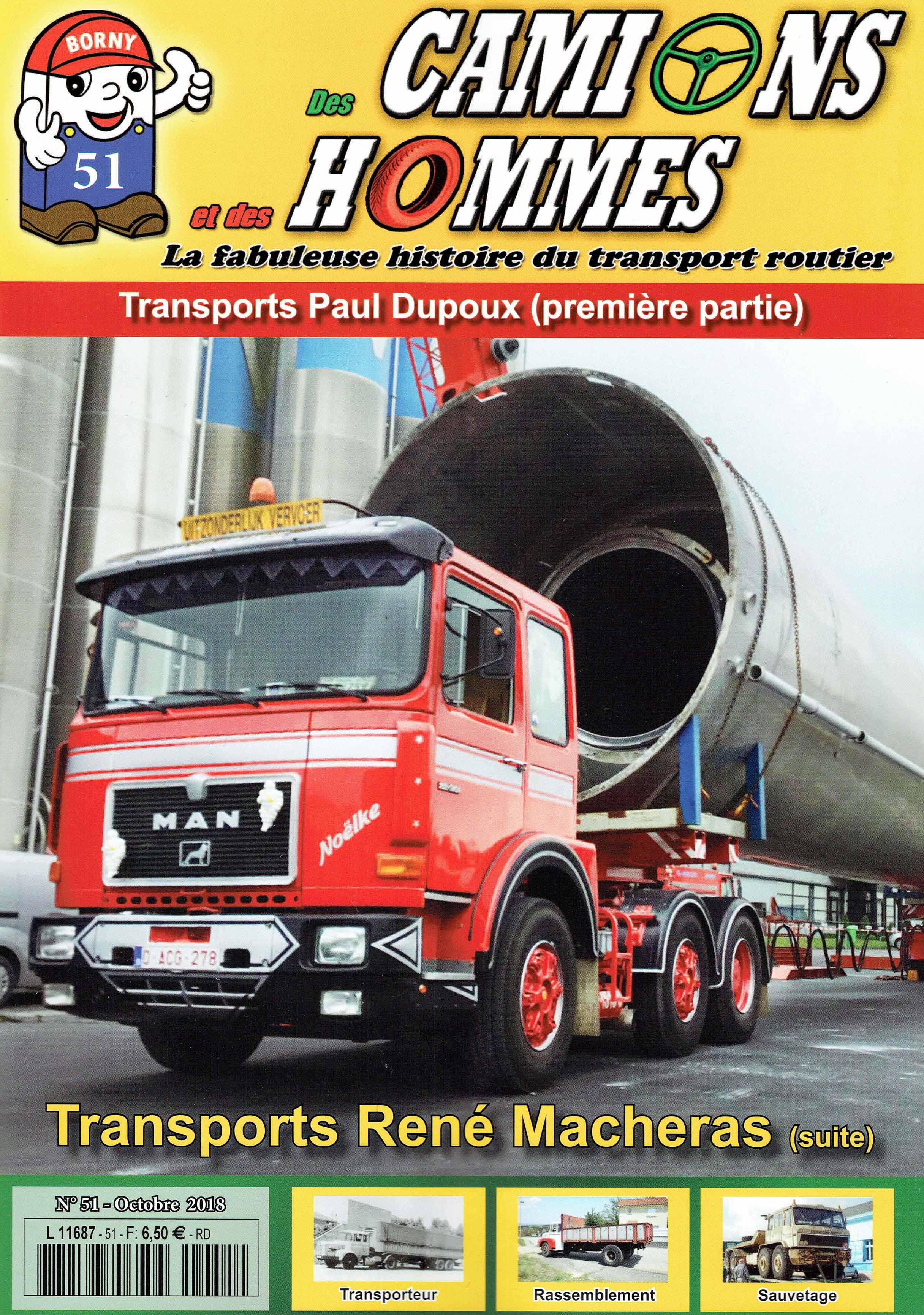 Magazine N°51 Des Camions et des Hommes (Etranger)