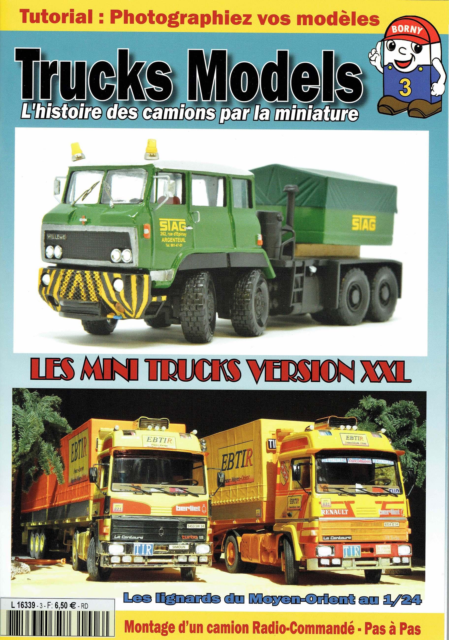 Numéro 3 de Trucks Models