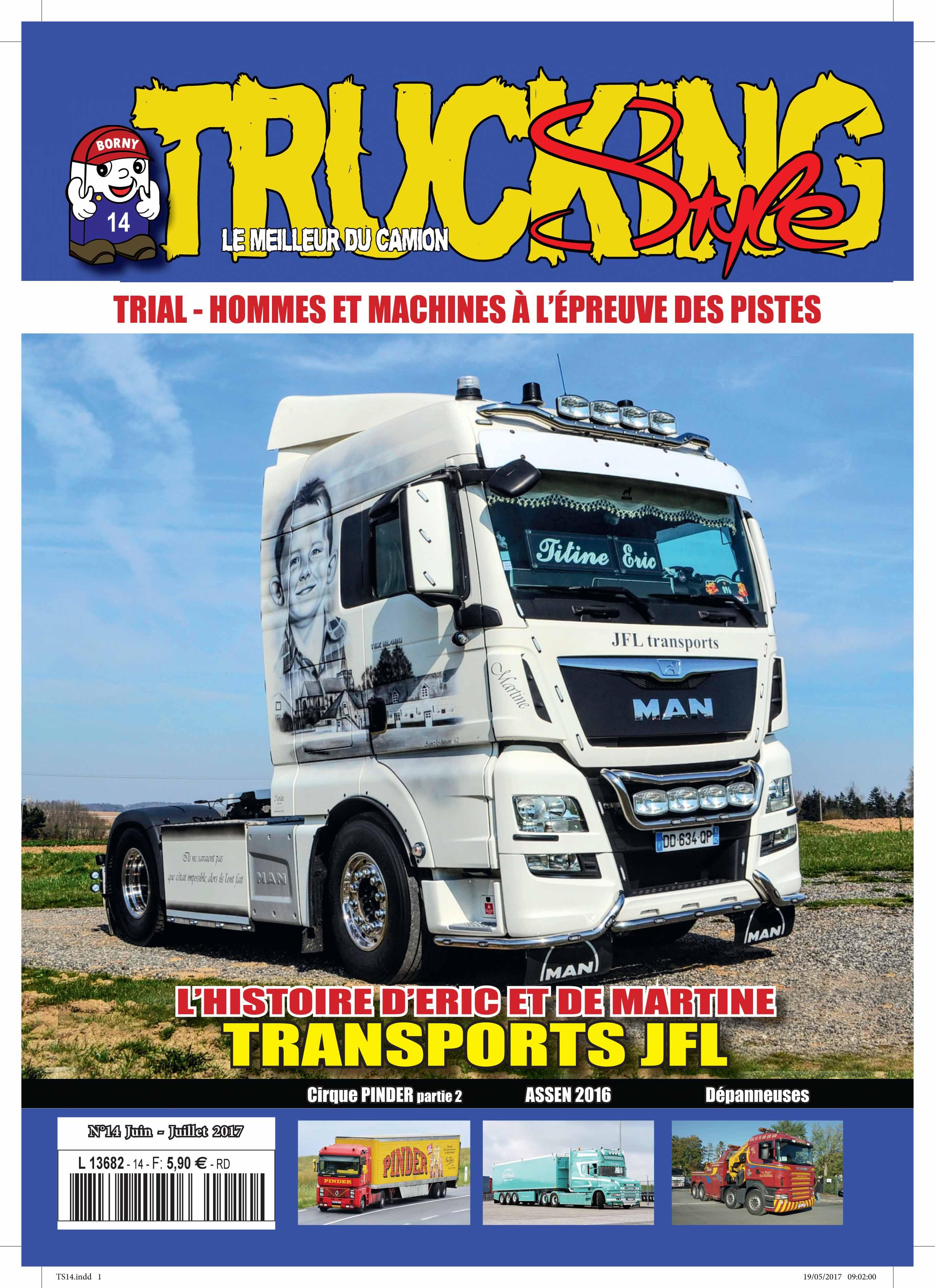 Numéro 14 de Trucking Style - Juin - Juillet 2017