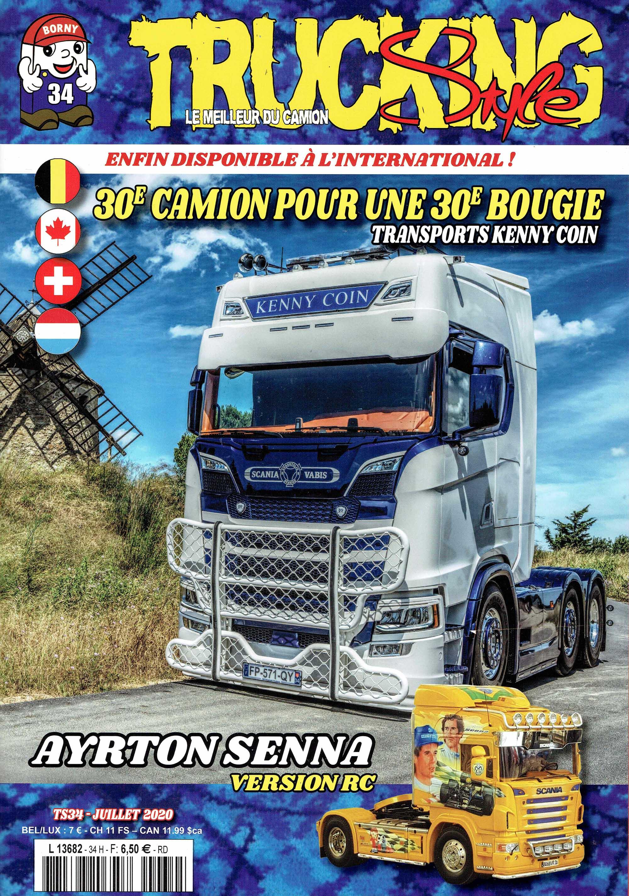 Numéro 34 de Trucking Style