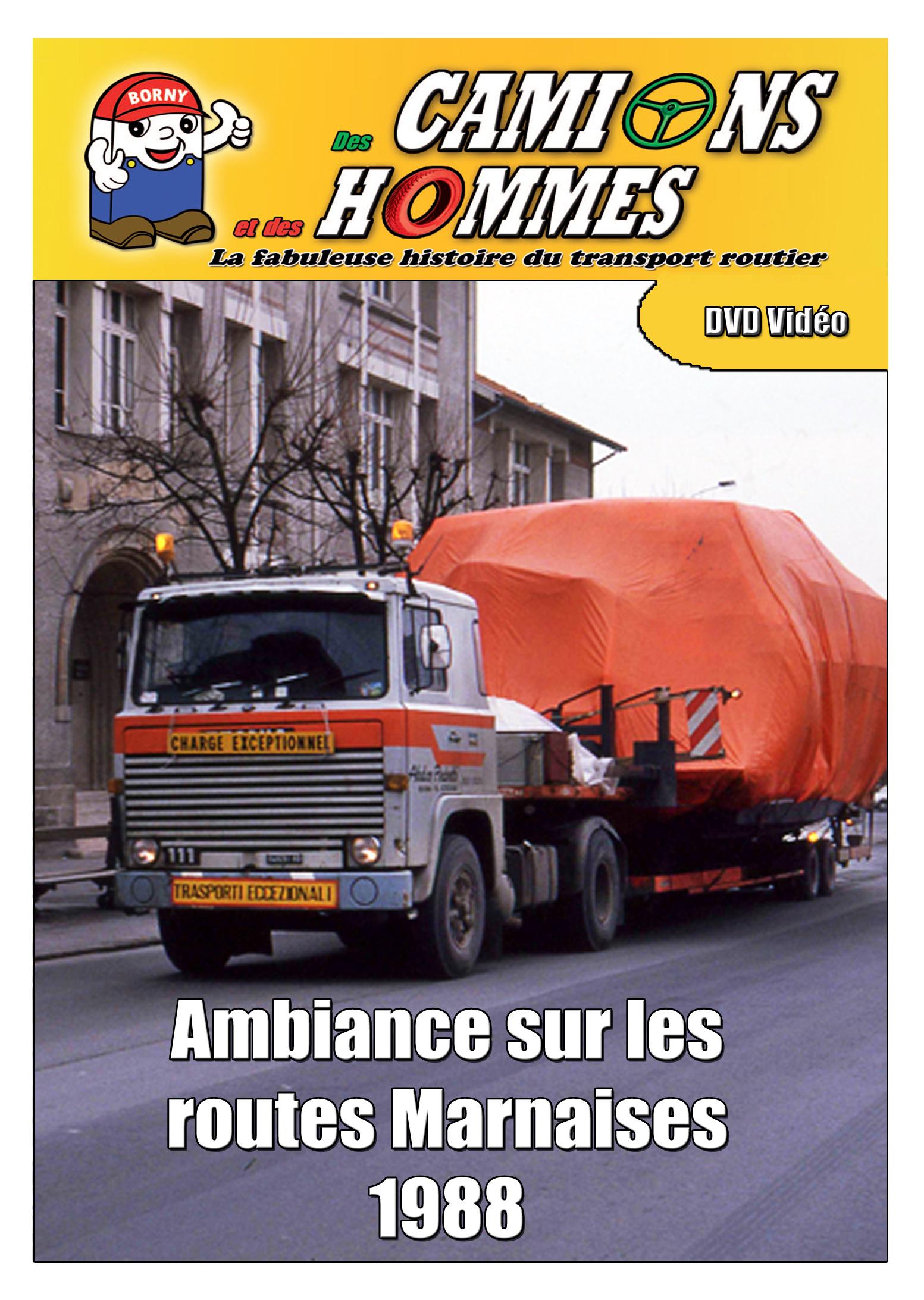 Ambiance sur les routes Marnaises 1988