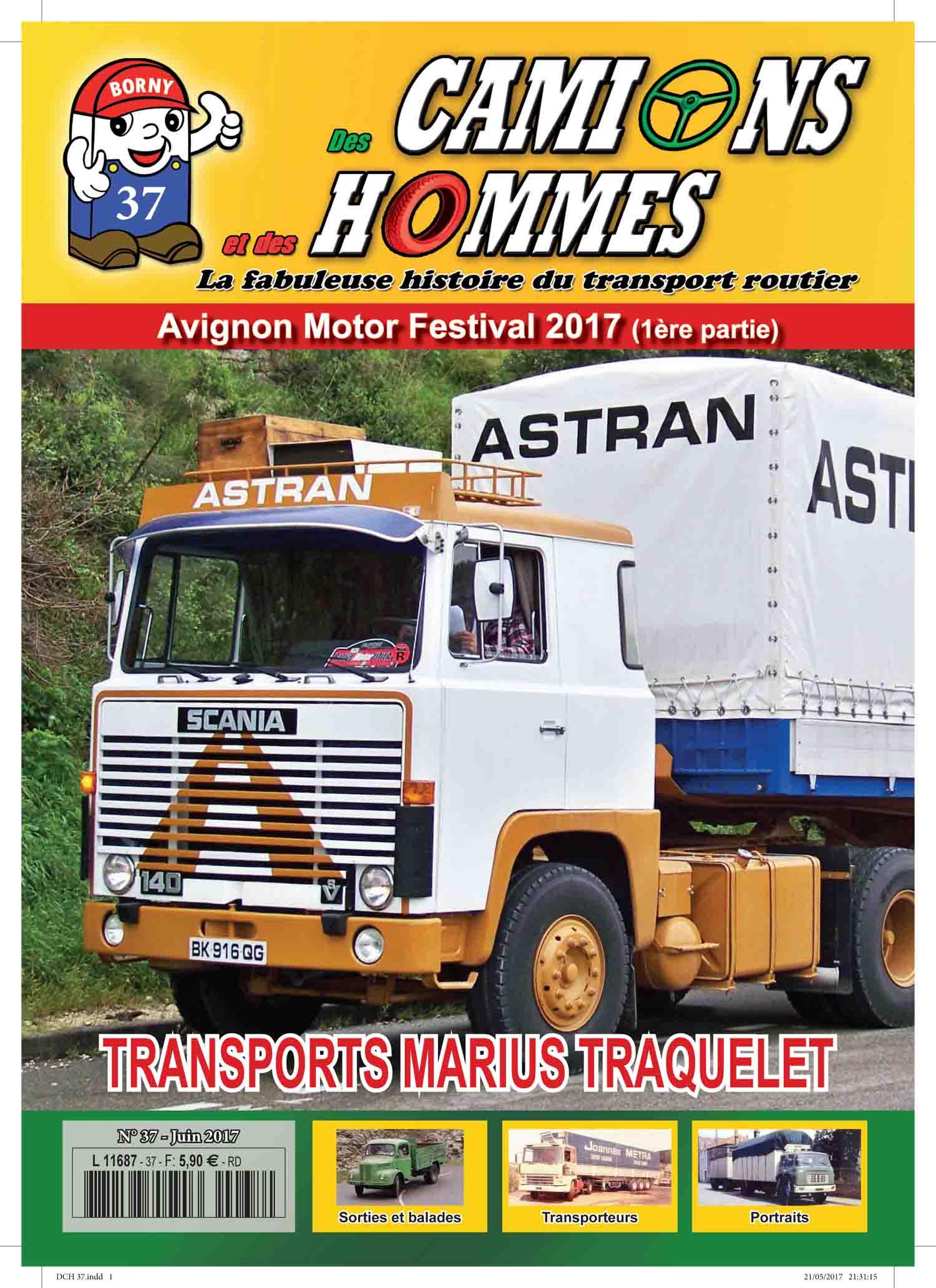 Magazine N°37 Des Camions et des Hommes (Etranger)