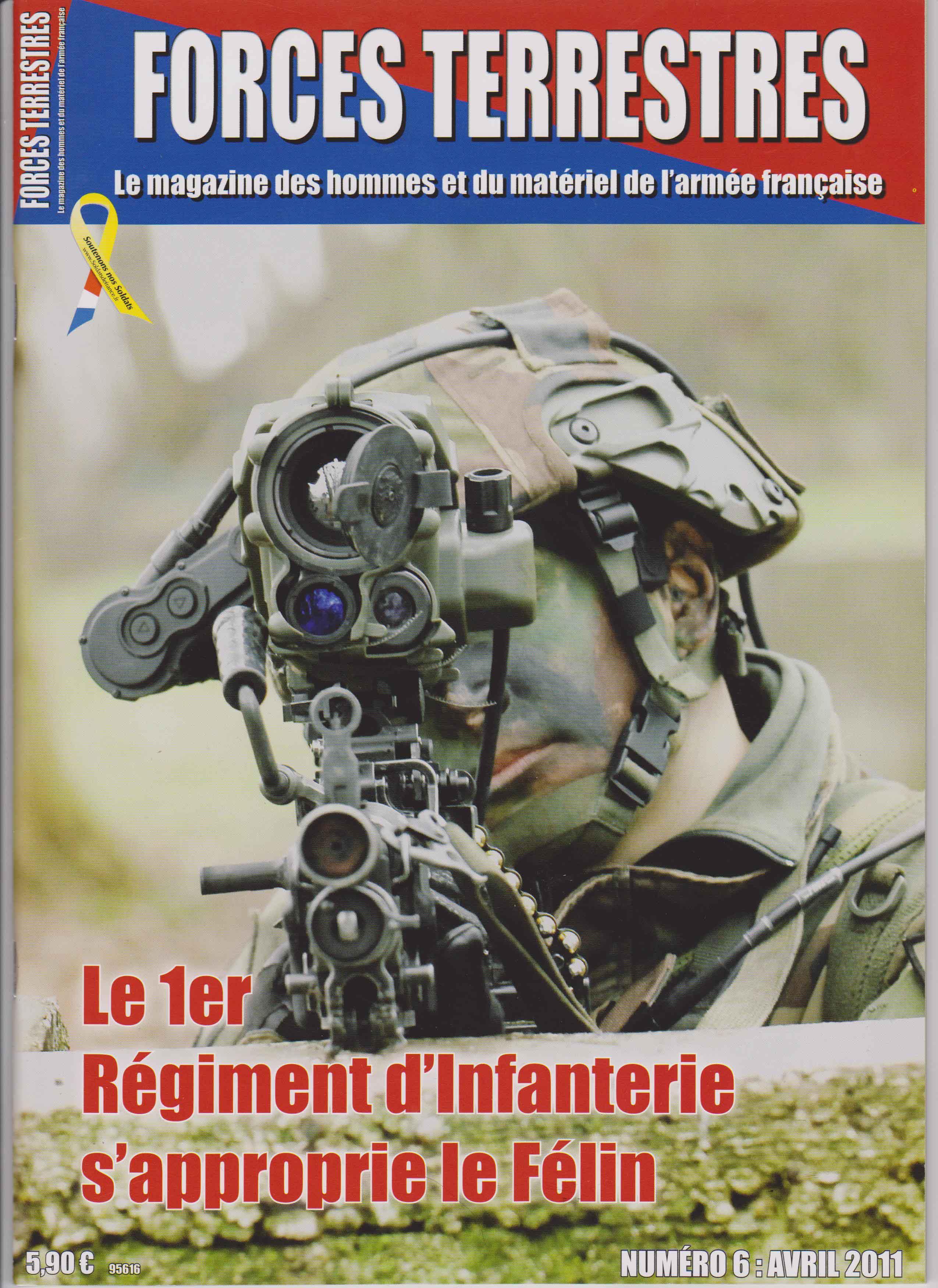 Forces Terrestres N°6 (Etranger)