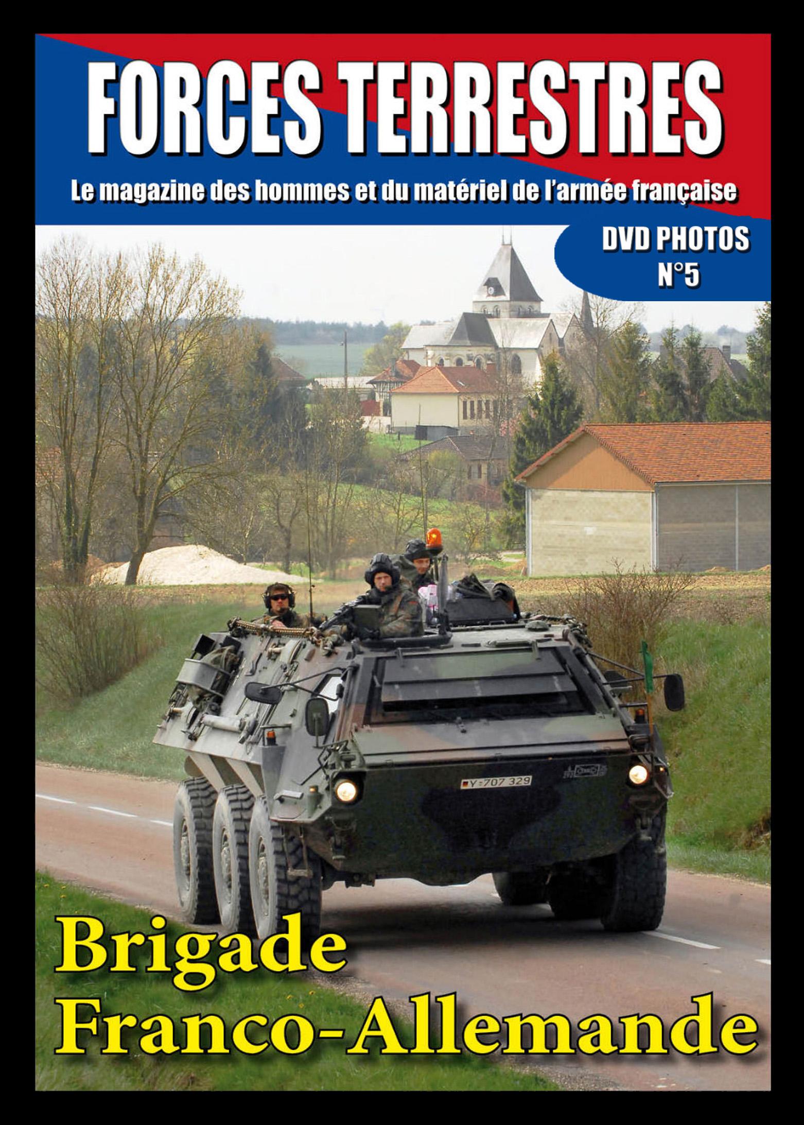 DVD  N°5 Brigade Franco Allemande