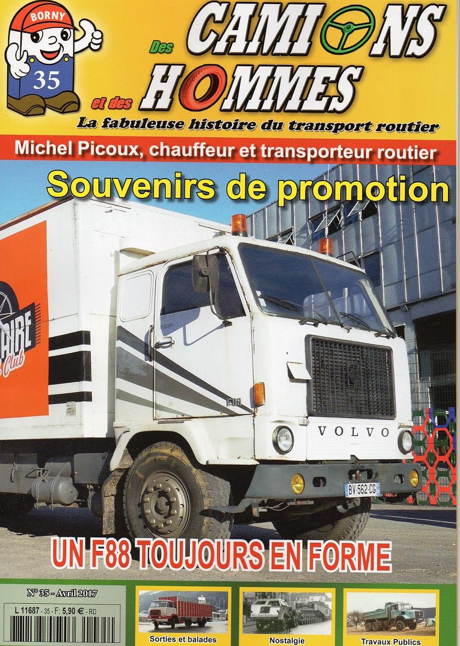 Magazine N°35 Des Camions et des Hommes (Etranger)