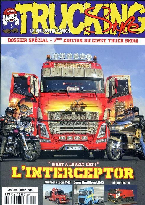 Numéro 8 de Trucking Style - Juin - Juillet 2016