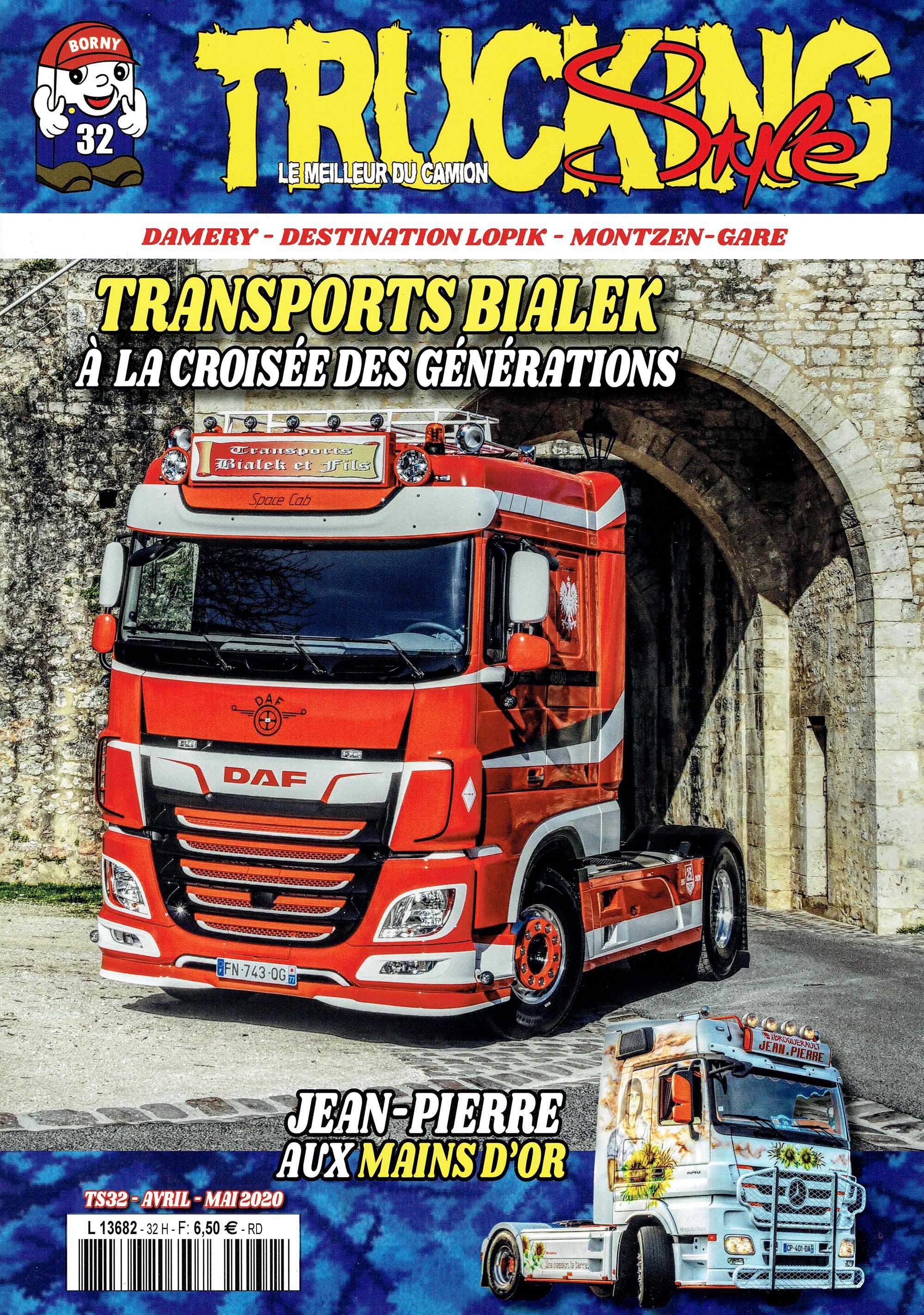 Numéro 32 de Trucking Style