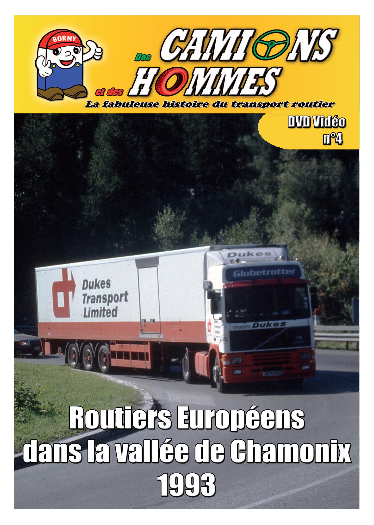 Routiers Européens dans la vallée de Chamonix 1993 partie 2