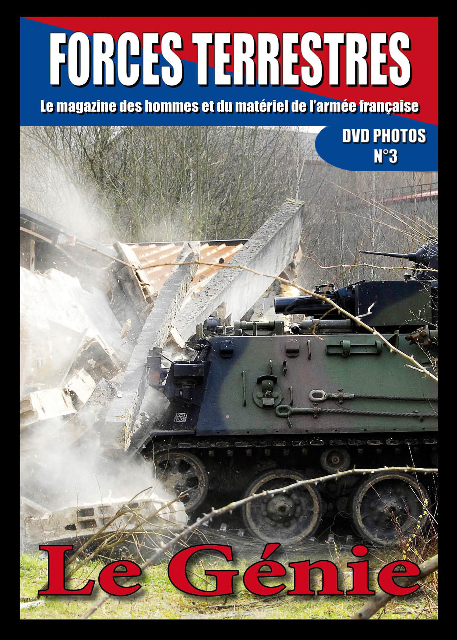 DVD  N°3 Engins du Génie