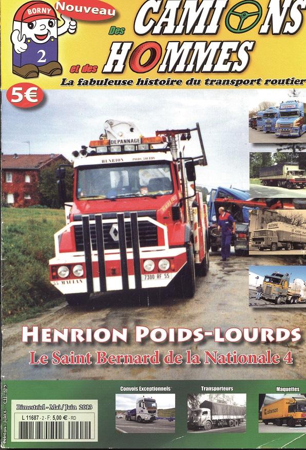 Magazine N°2 Des Camions et des Hommes (Etranger)