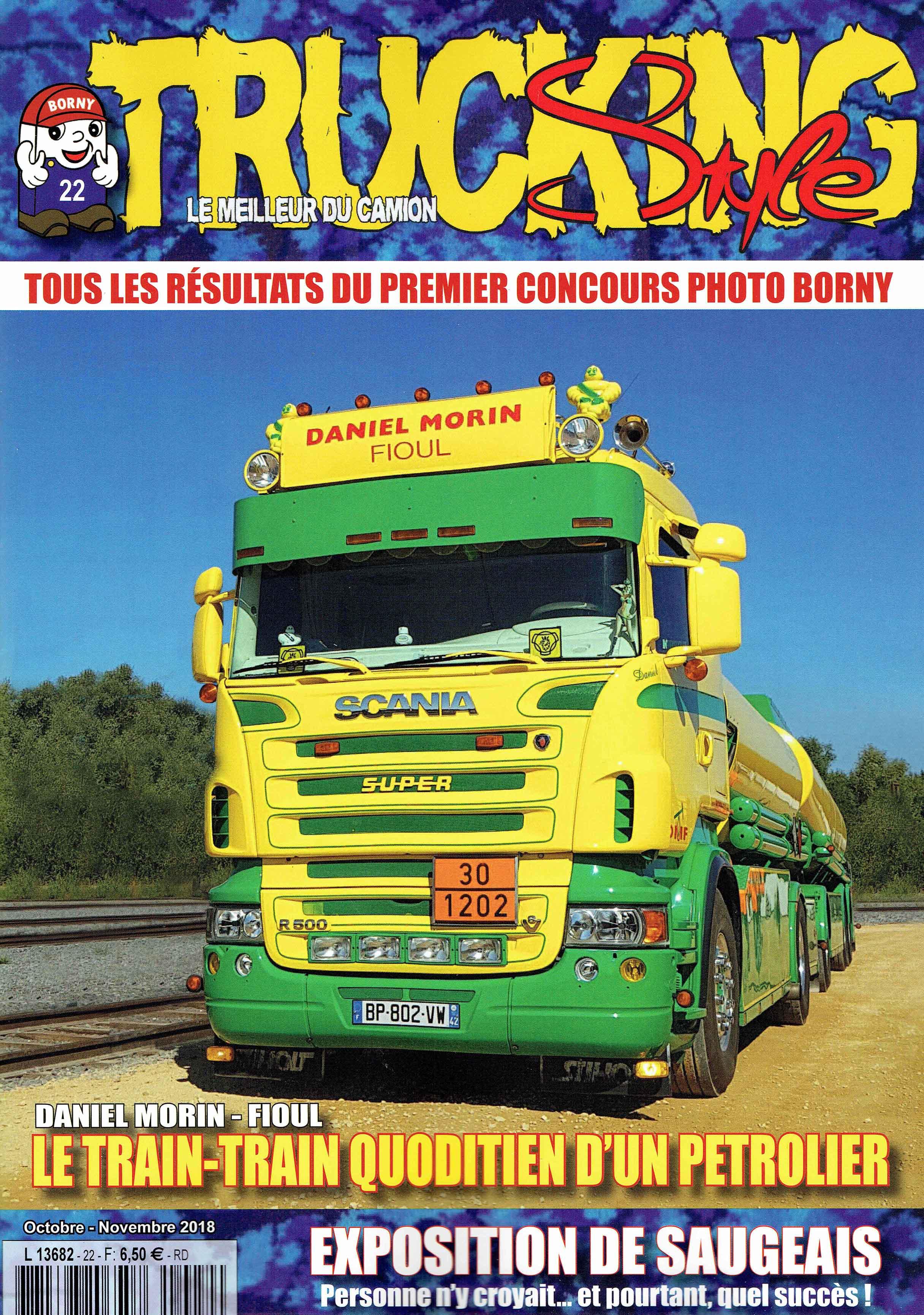 Numéro 22 de Trucking Style