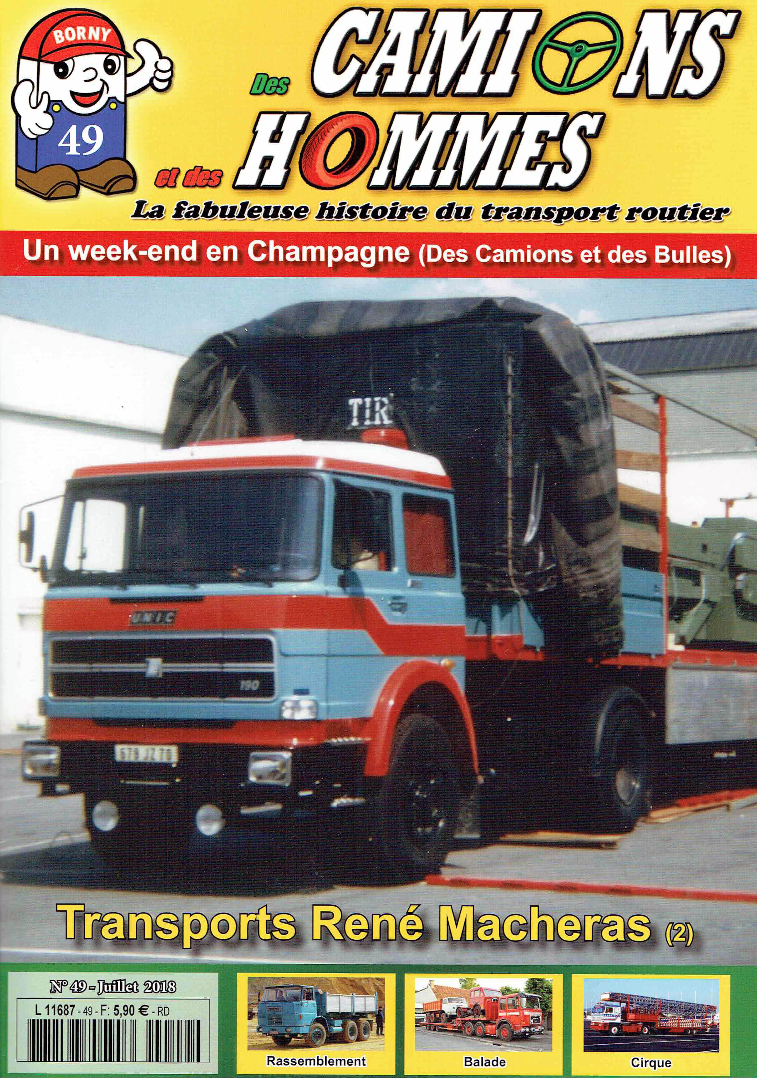 Magazine N°49 Des Camions et des Hommes (Etranger)