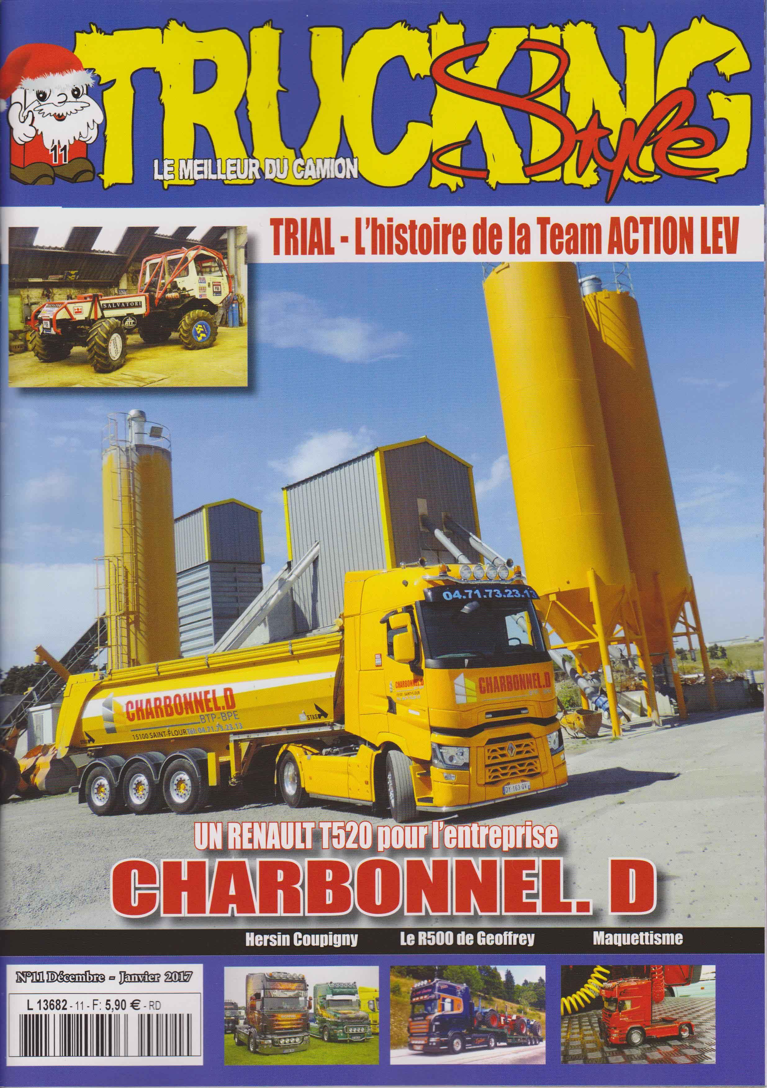 Numéro 11 de Trucking Style - Décembre - Janvier 2017