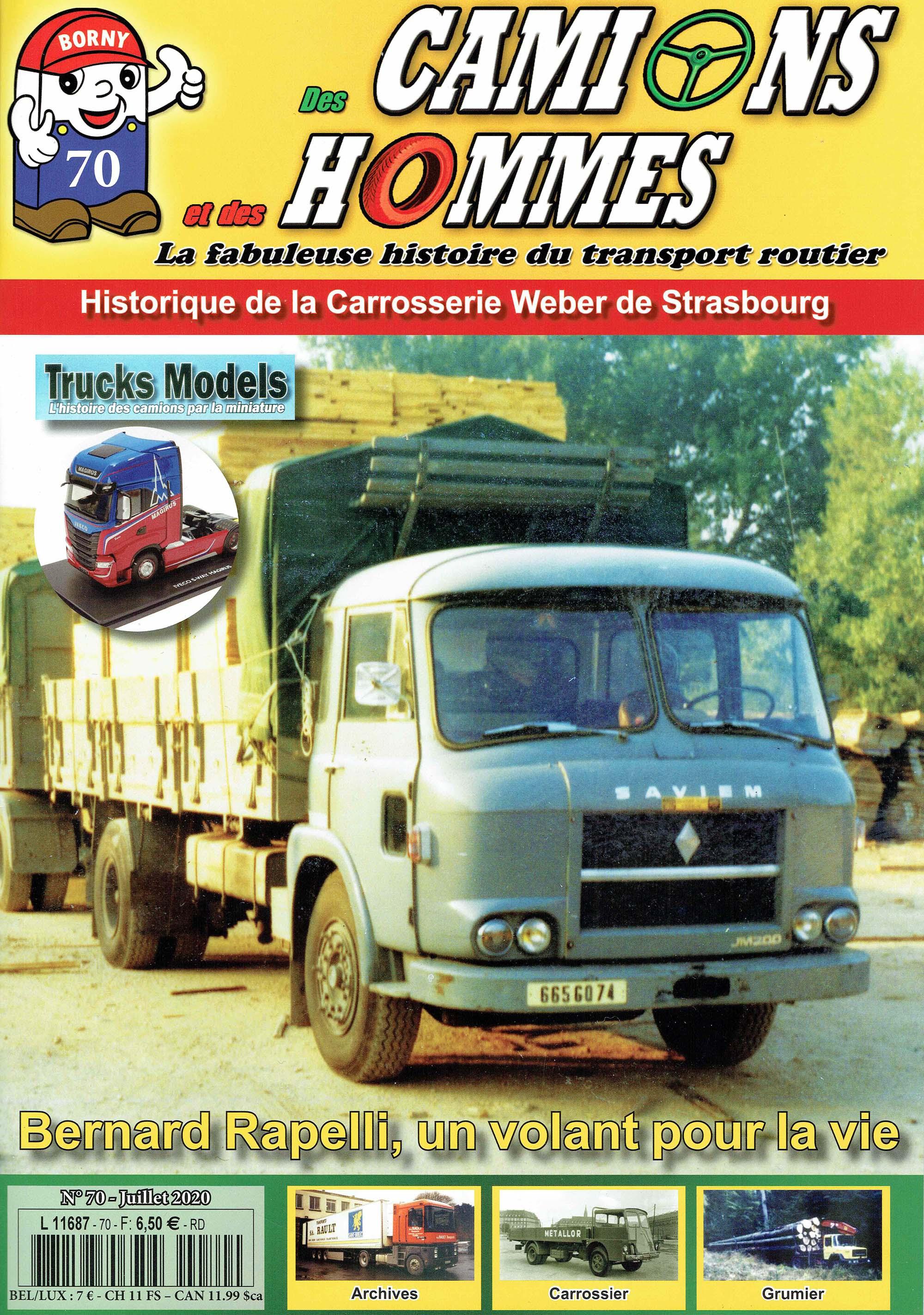 Magazine N°70 Des Camions et des Hommes (Etranger)