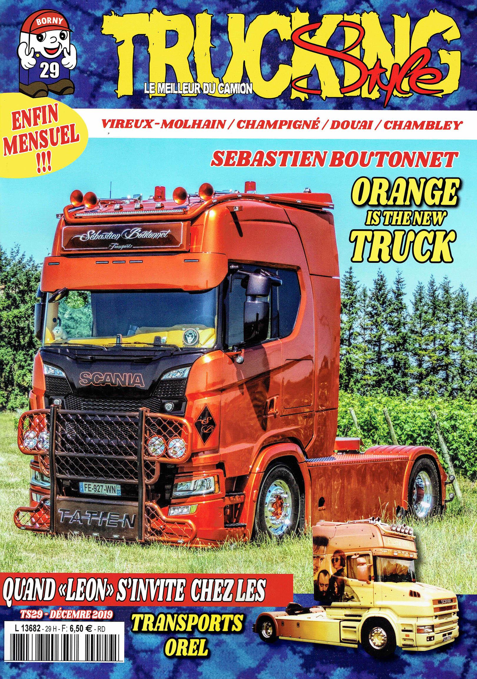 Numéro 29 de Trucking Style