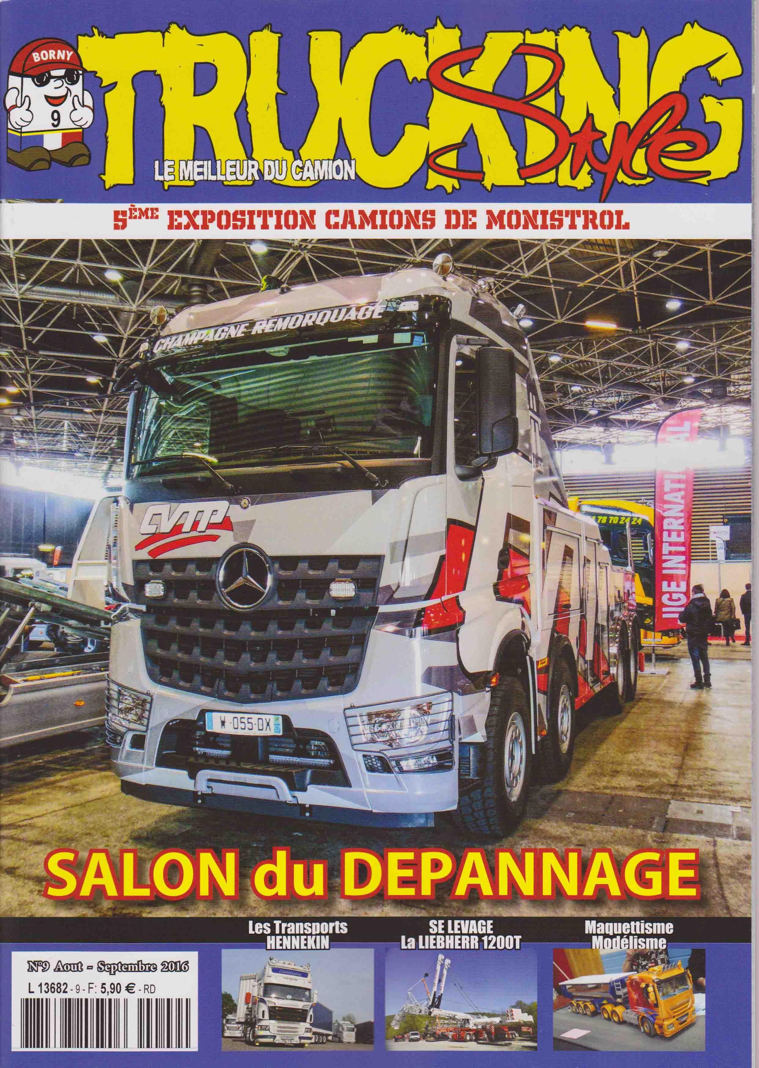 Numéro 9 de Trucking Style - Août - Septembre 2016