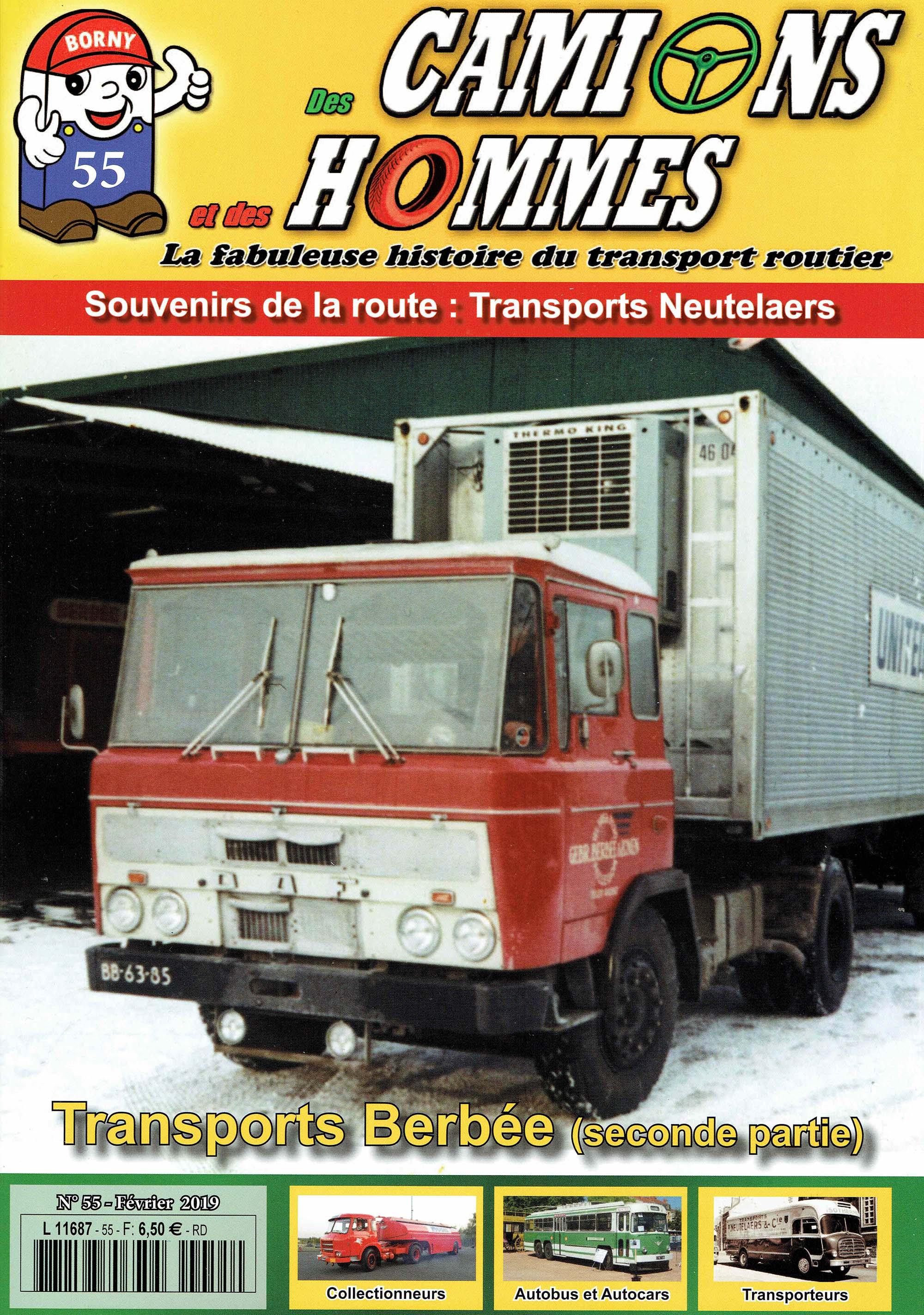 Magazine N°55 Des Camions et des Hommes (Etranger)