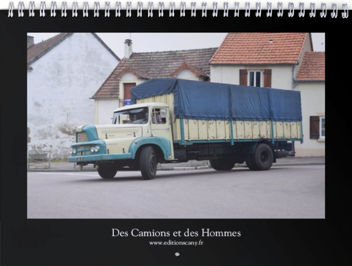 "Calendrier 2020 ""Camions anciens"""