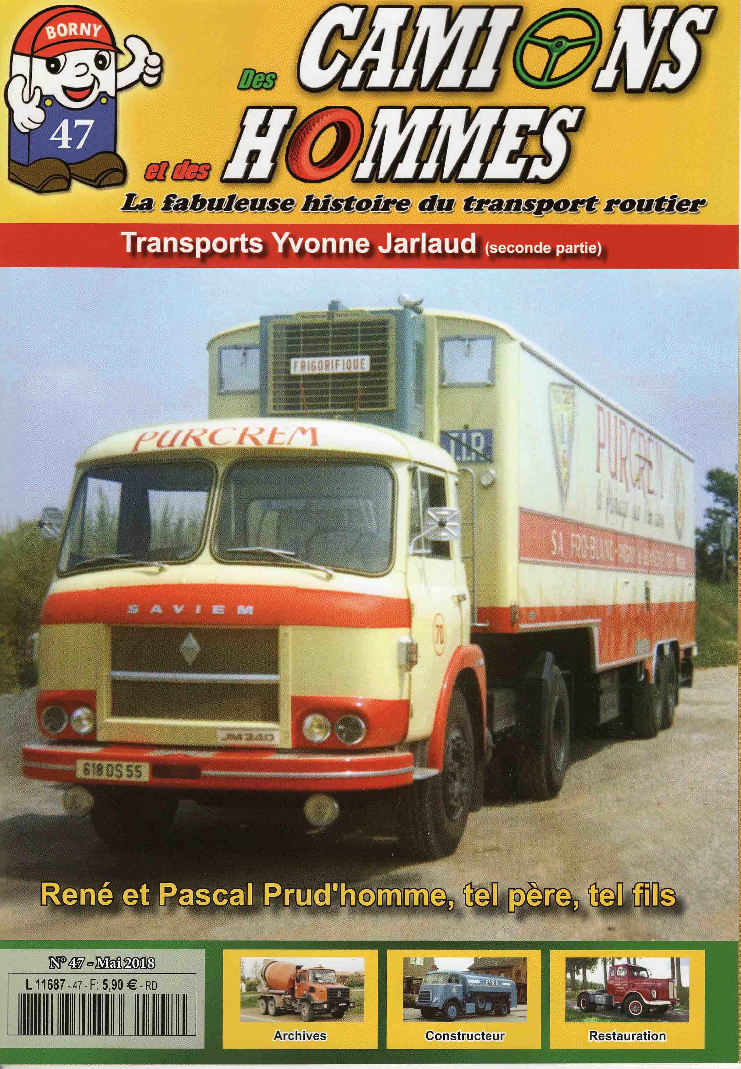 Magazine N°47 Des Camions et des Hommes (Etranger)