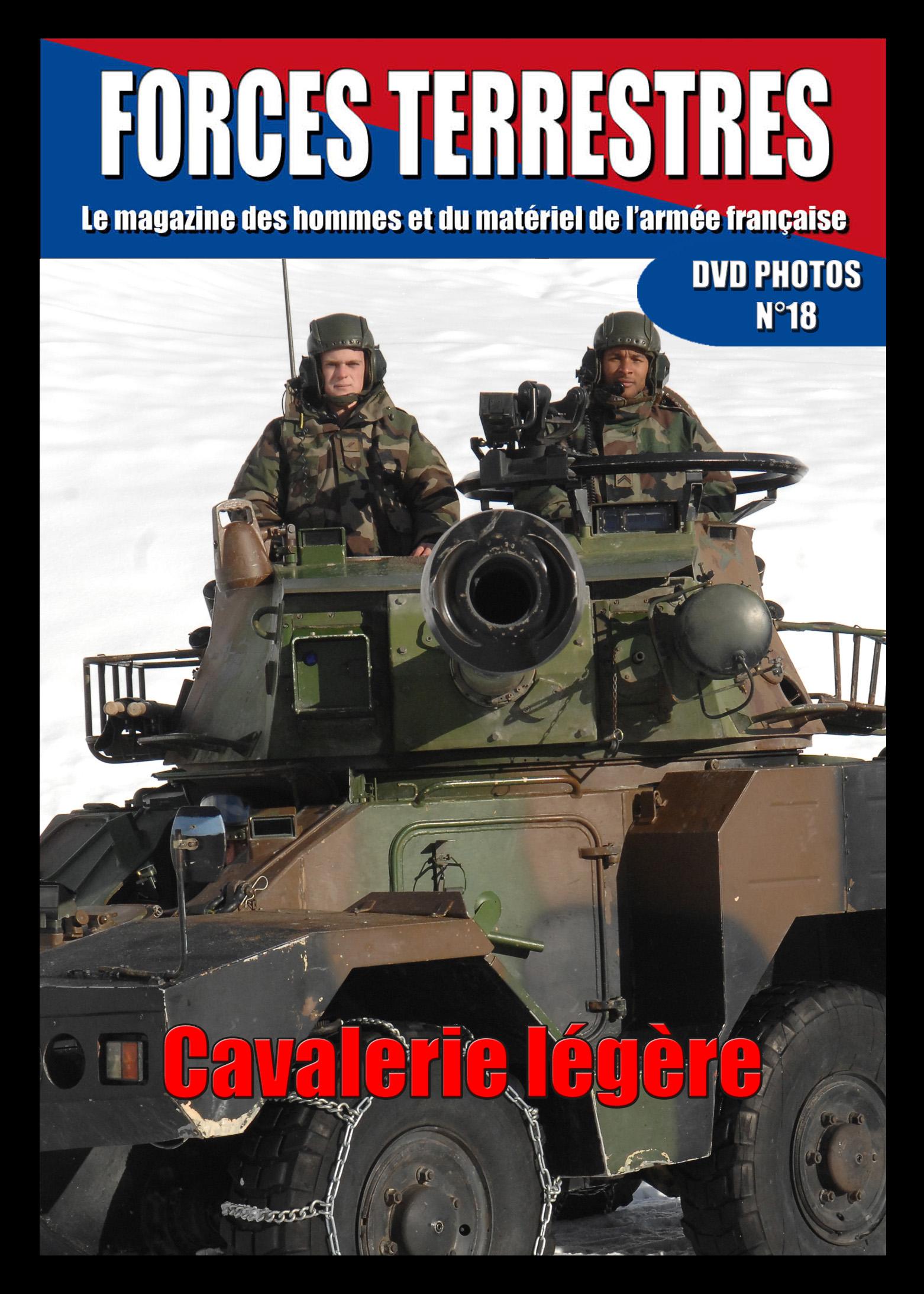 DVD  N°18 Cavalerie Légère
