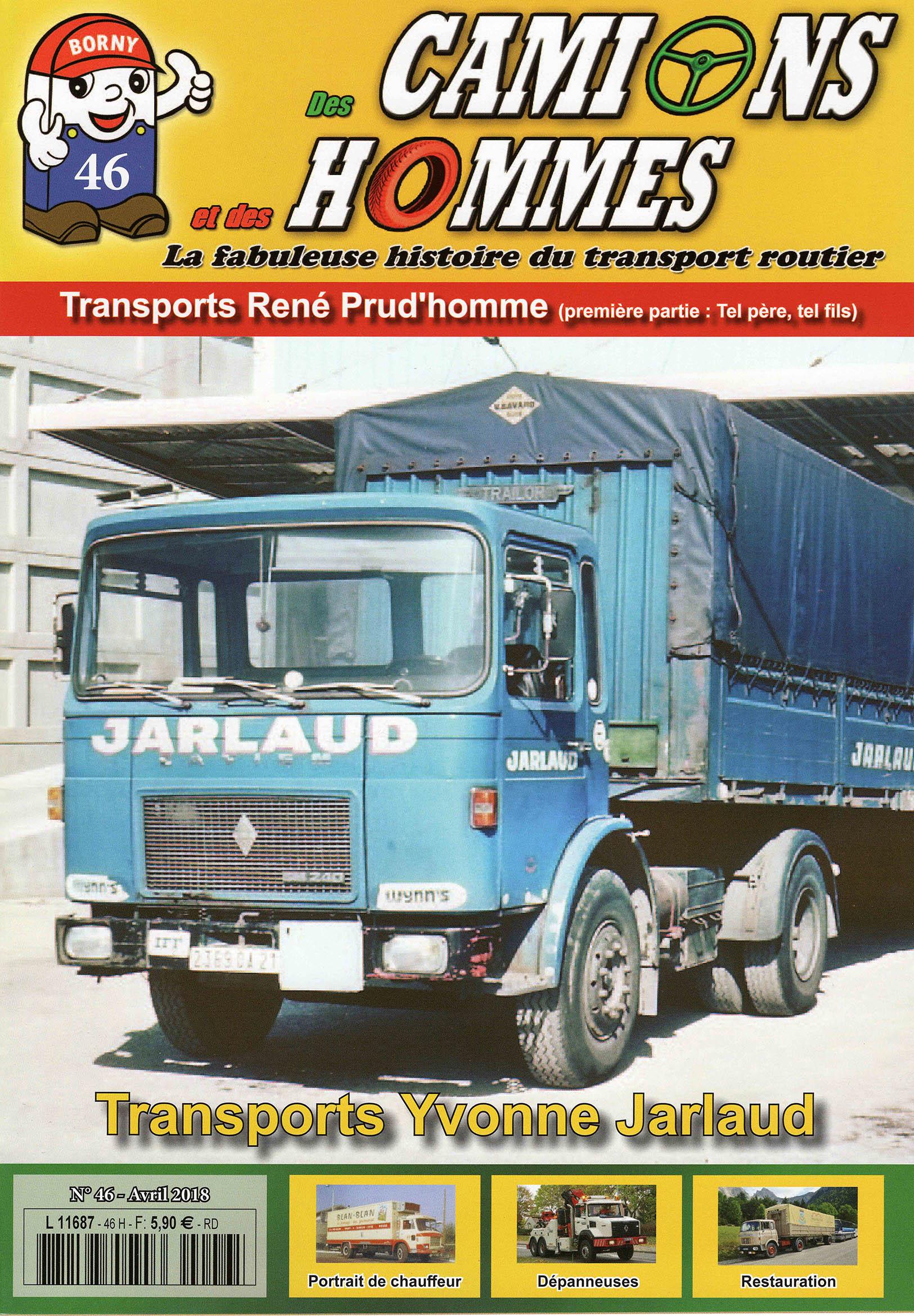 Magazine N°46 Des Camions et des Hommes (Etranger)