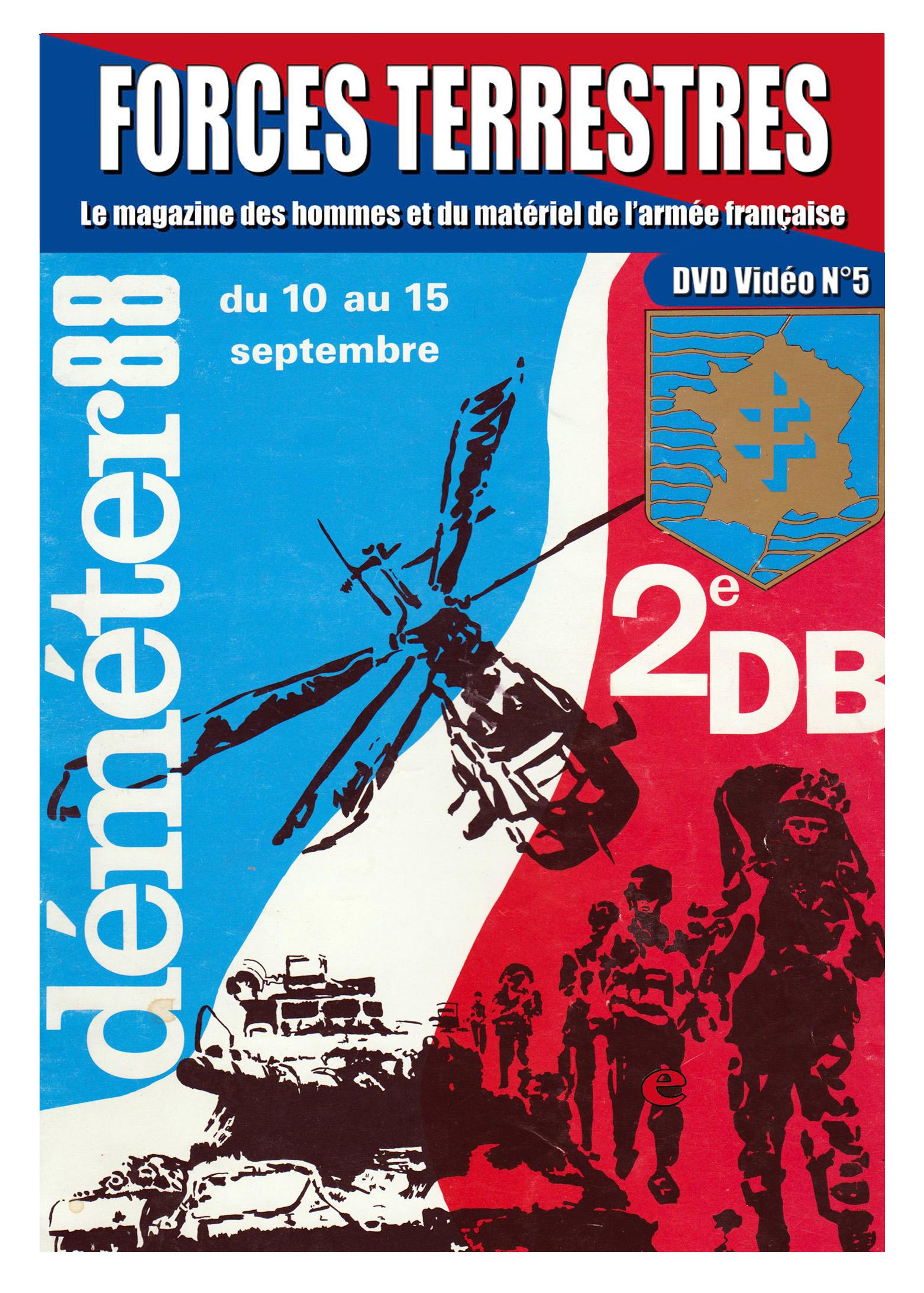 DVD Vidéos n°5 DEMETER 88
