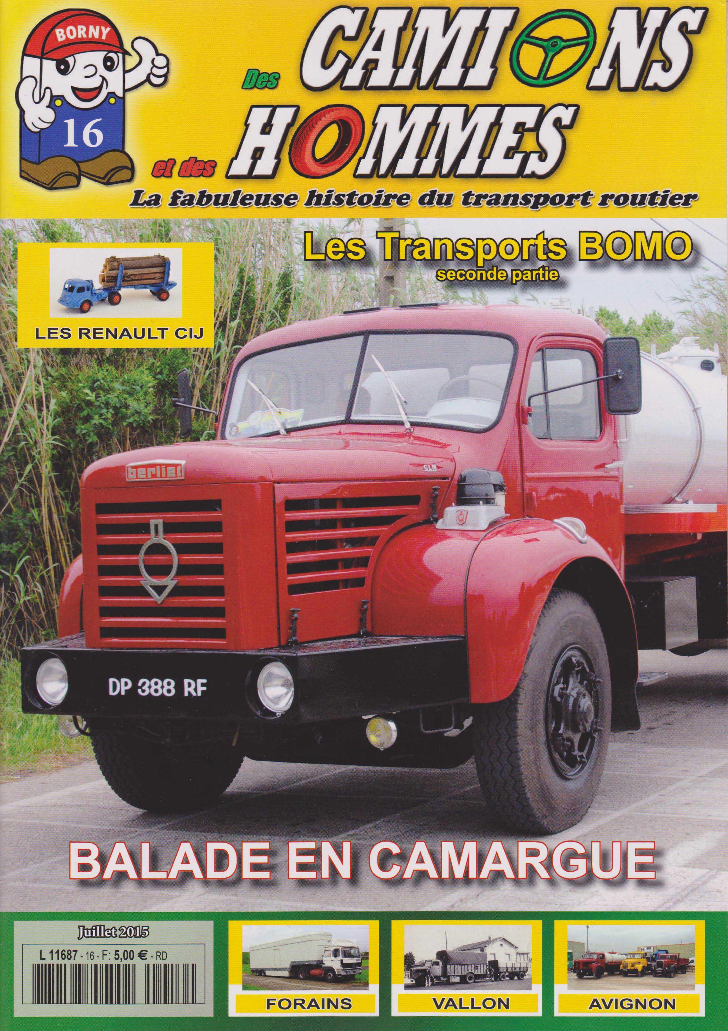 Magazine N°16 Des Camions et des Hommes (Etranger)