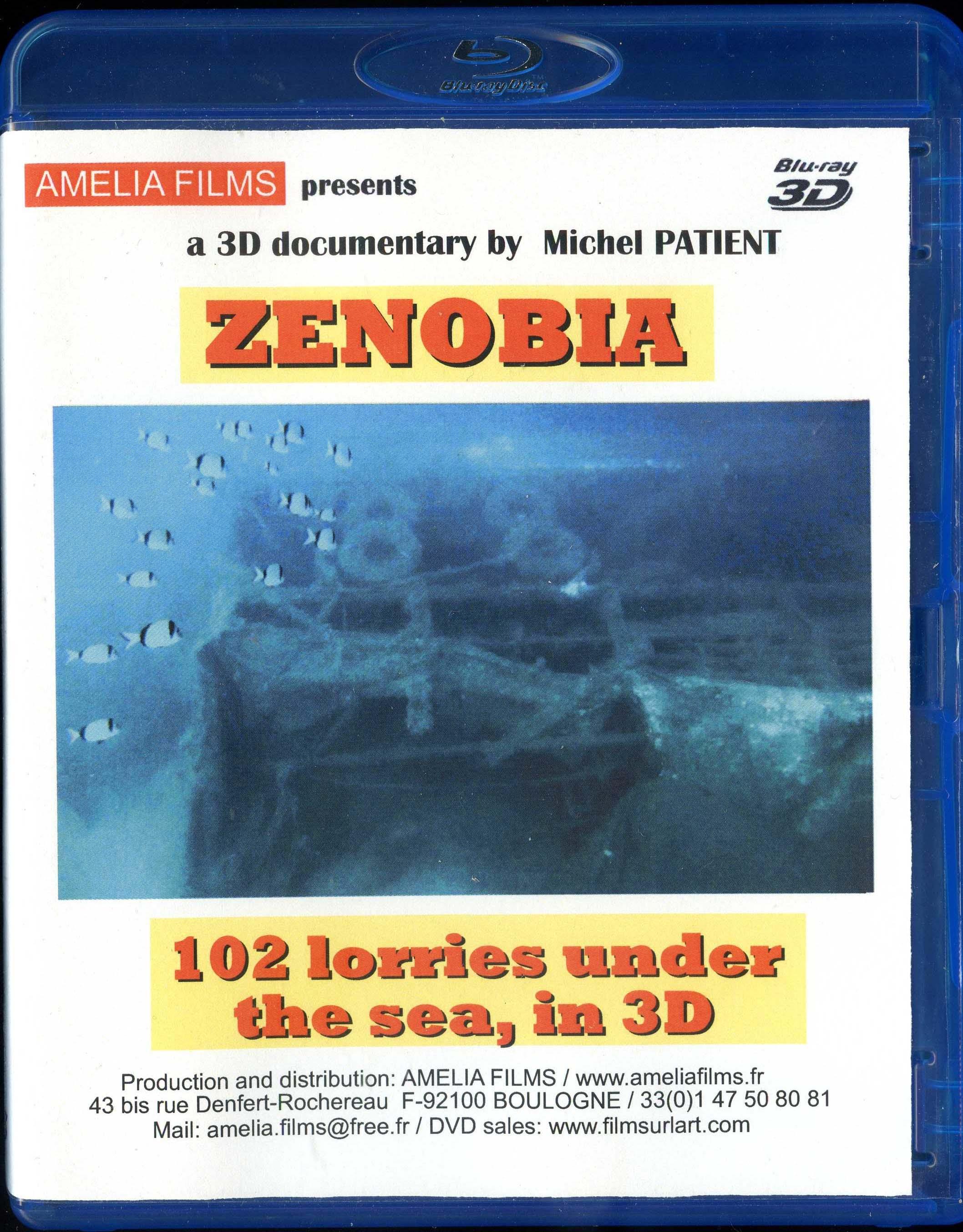 ZENOBIA reportage 102 camions sous les mers, en 3D ( version française )