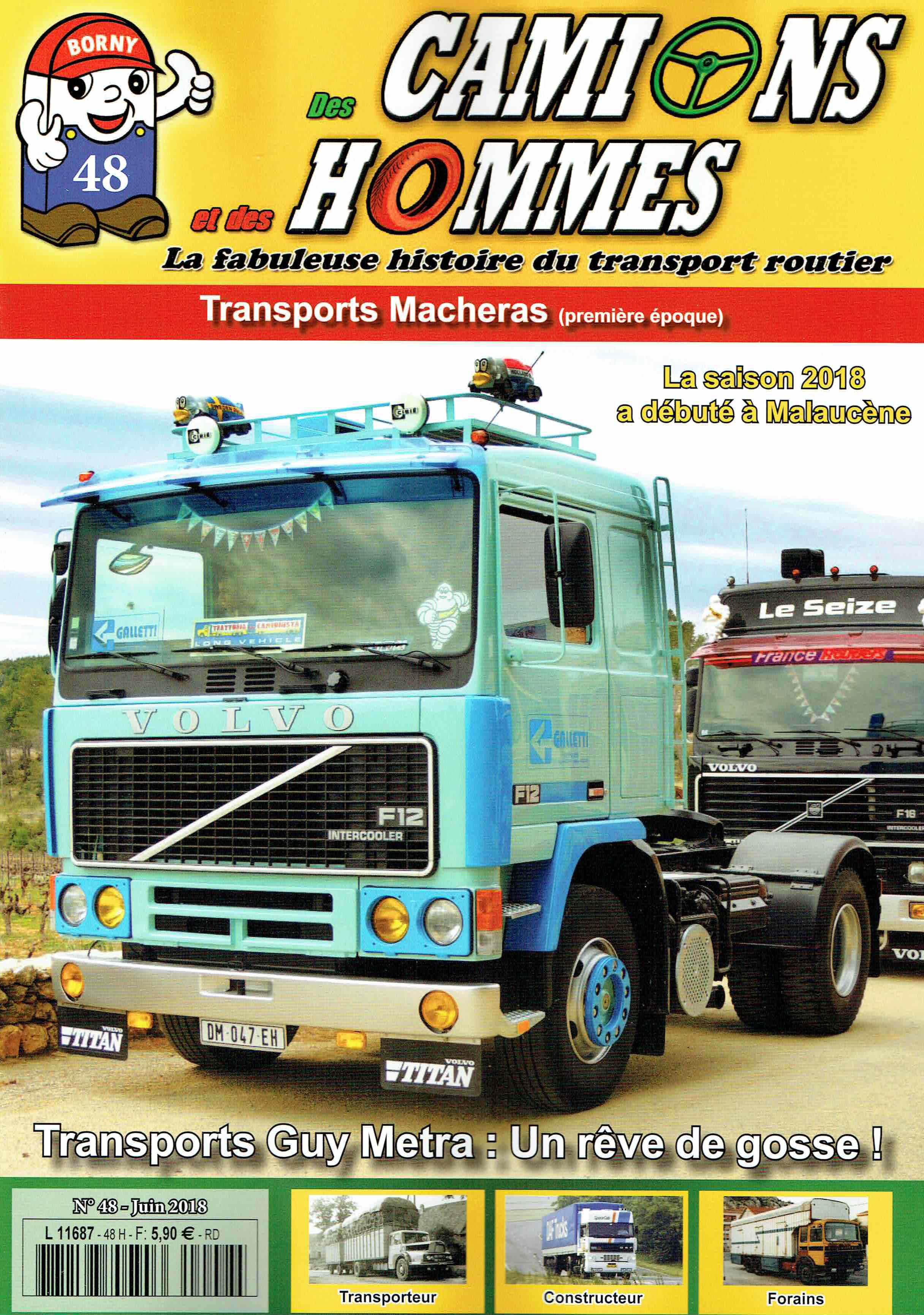Magazine N°48 Des Camions et des Hommes (Etranger)