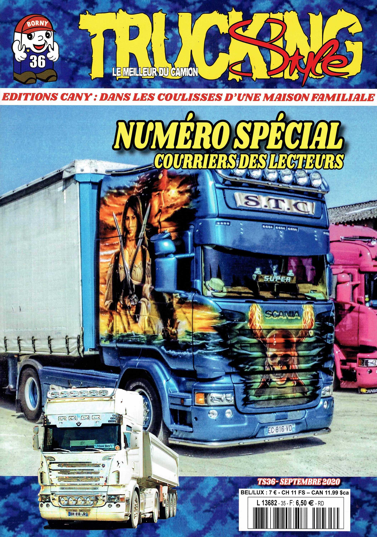 Numéro 36 de Trucking Style