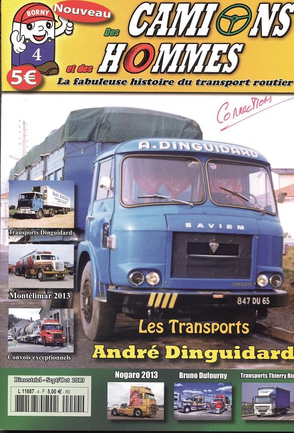 Magazine N°4 Des Camions et des Hommes (Etranger)